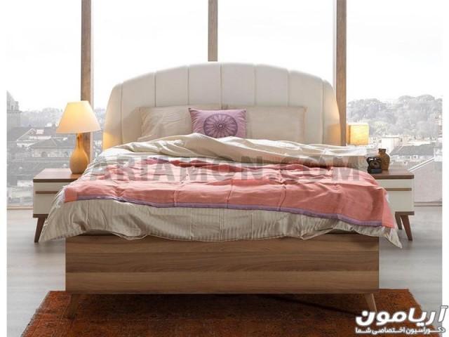 سرویس خواب مدرن سفید مدل BS106
