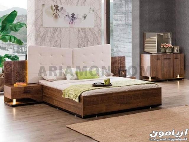 سرویس خواب چوبی ترک مدل BS114