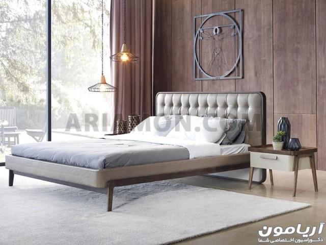 سرویس خواب مدرن 160 چوبی BS129