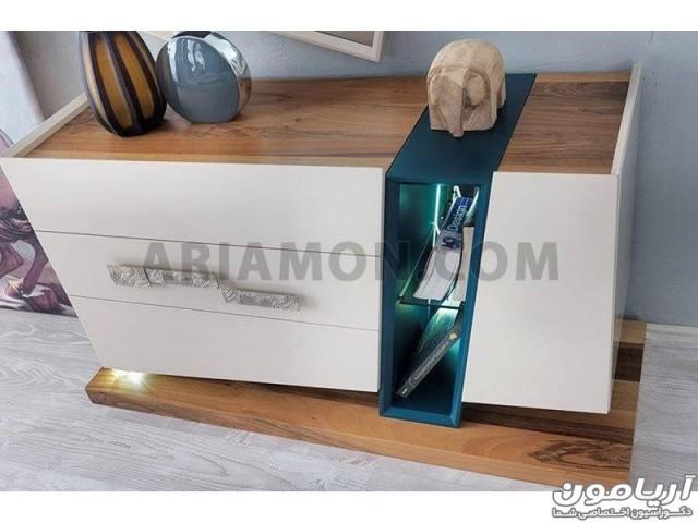 سرویس خواب چوبی مدرن