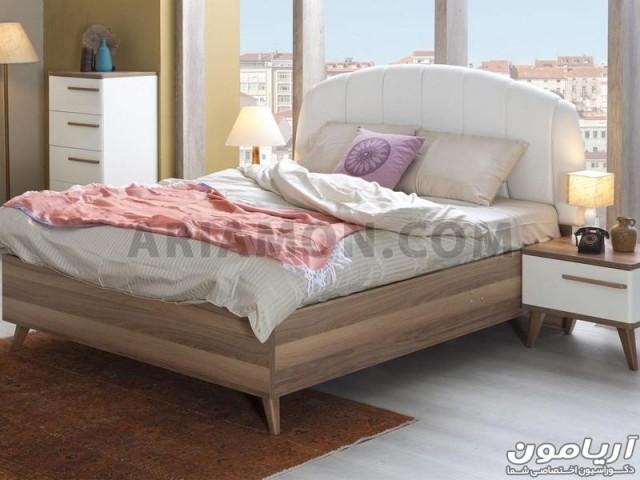 تخت خواب مدرن سفید
