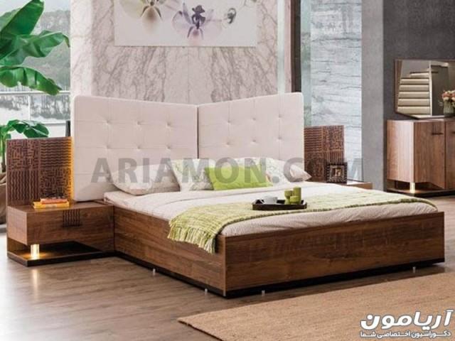 تخت خواب چوبی ترک