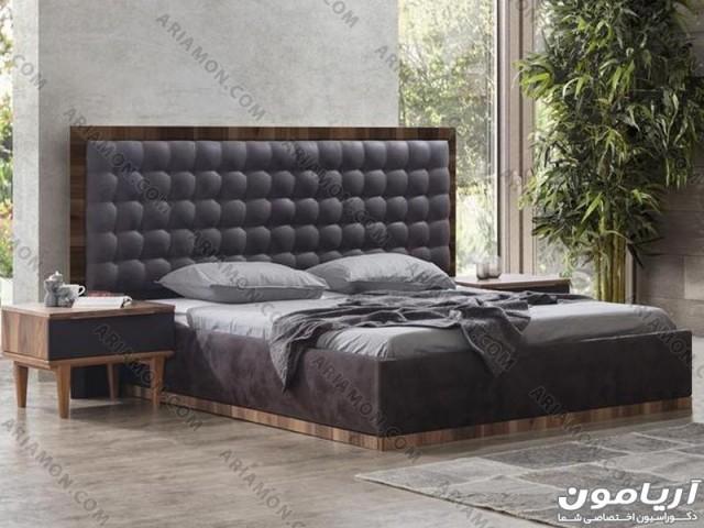 تخت خواب مدرن سیاه