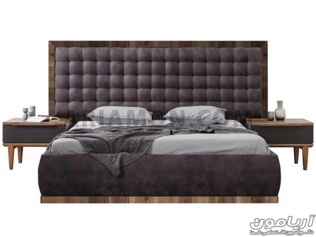 تخت خواب مدرن سیاه B121
