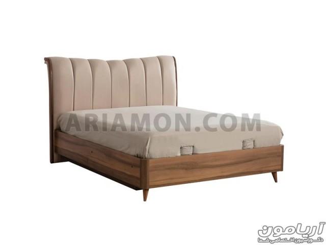 تخت خواب چوبی B122