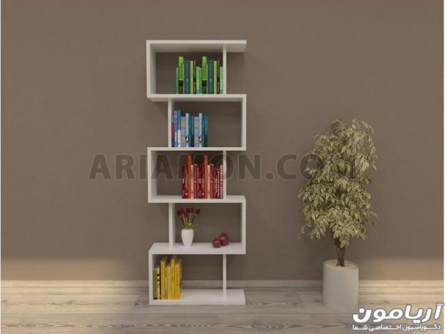 کتابخانه دیواری و قفسه کتاب مدل BC100