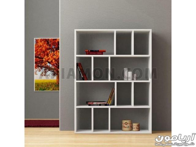کتابخانه دیواری ساده