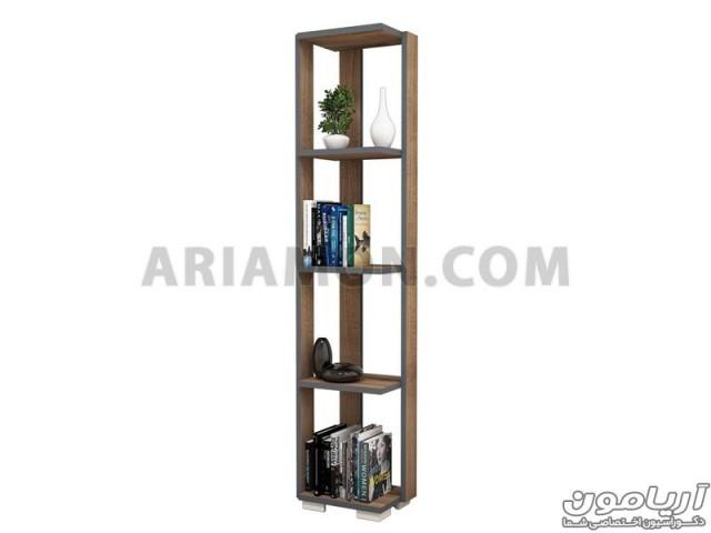کتابخانه و قفسه کتاب مدرن مدل BC110