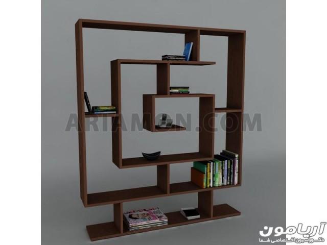 کتابخانه دیواری خاص مدل BC117