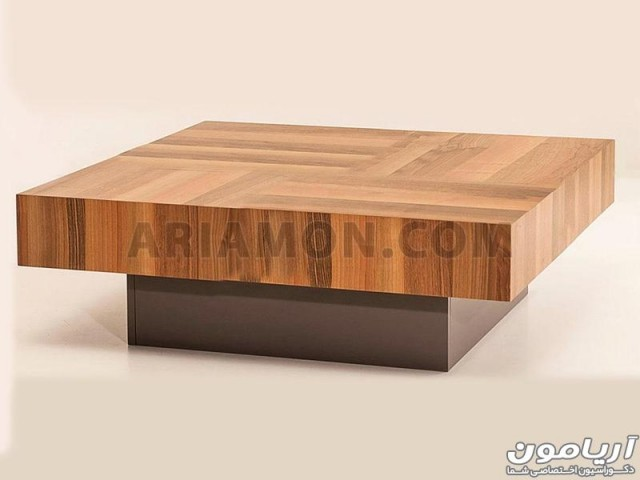 میز جلو مبلی مربع چهار کشو