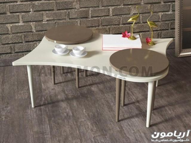 میز جلو مبلی و عسلی خاص مدل CT107
