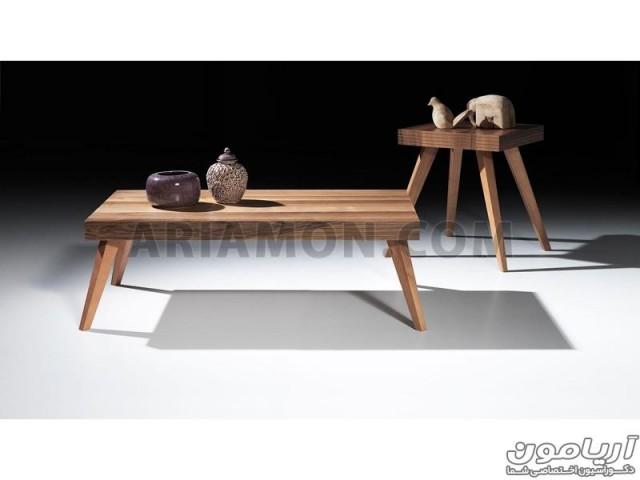 میز جلو مبلی مستطیل ساده مدل CT113