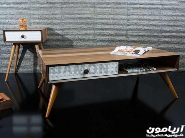 میز جلو مبلی مدرن ساده