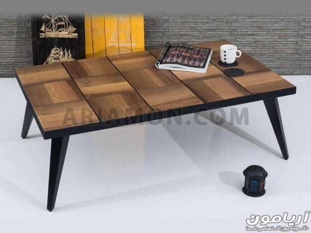 میز جلو مبلی چوبی مدل CT134