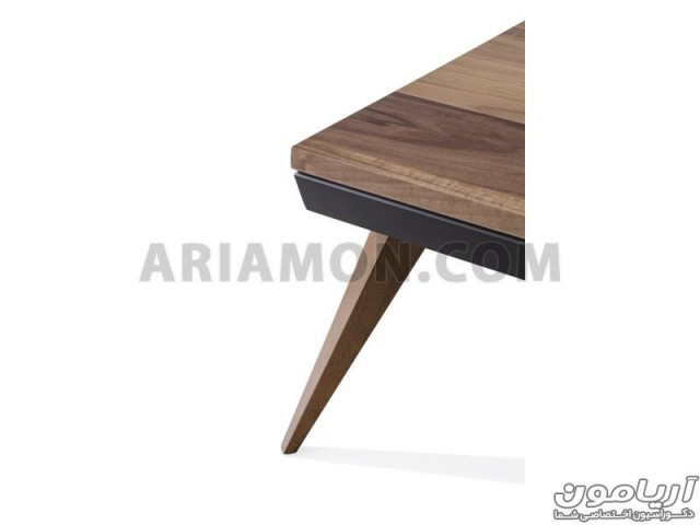 میز جلو مبلی مدرن سیاه