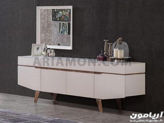 میز کنسول مدرن سفید