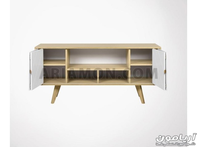 میز کنسول مدرن چهارخانه مدل CN151