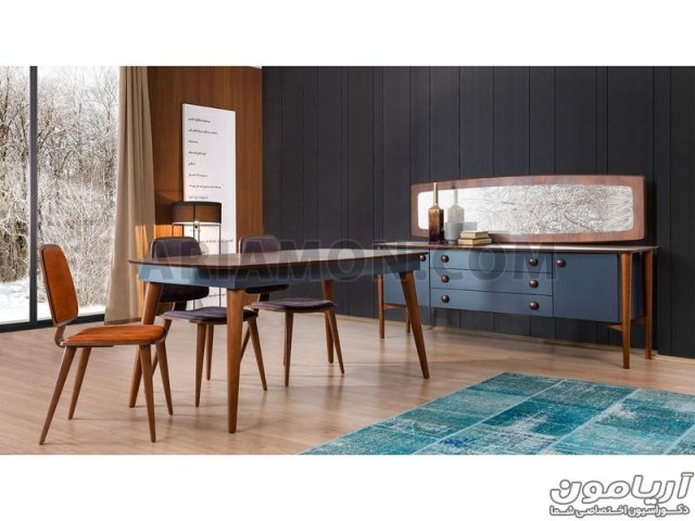 میز غذاخوری چوبی DT120