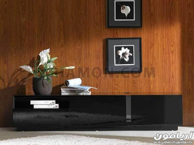 میز تلویزیون سیاه مدل TS118