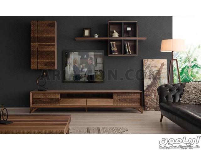 میز تلویزیون مدرن چوبی مدل TS120