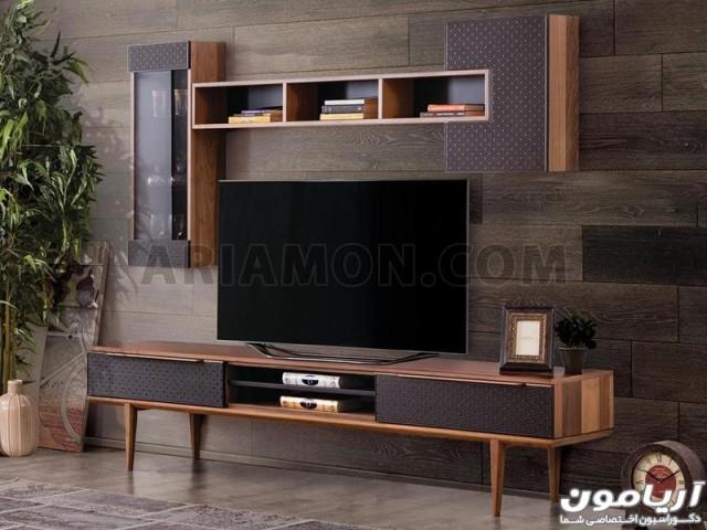 میز تلویزیون مدرن سیاه