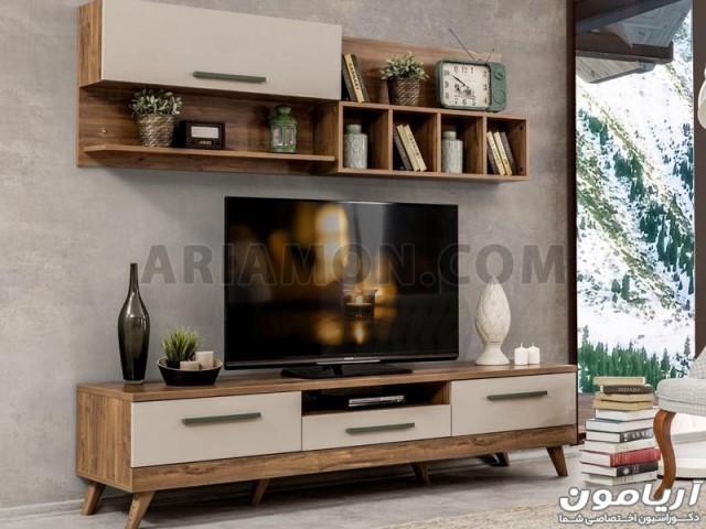 میز تلویزیون MDF ترکیه مدل TS134