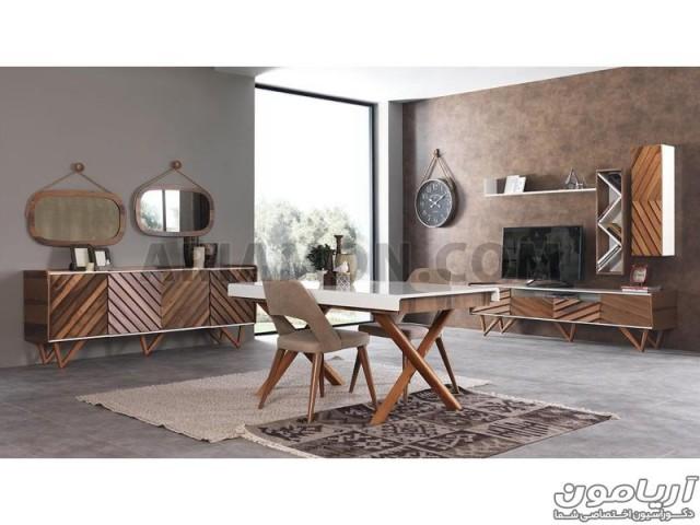 میز تلویزیون چوبی مدل TS149