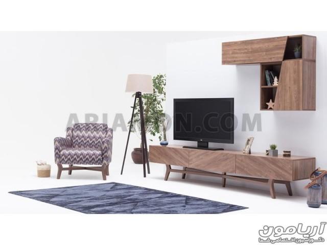 میز تلویزیون چوبی 2018