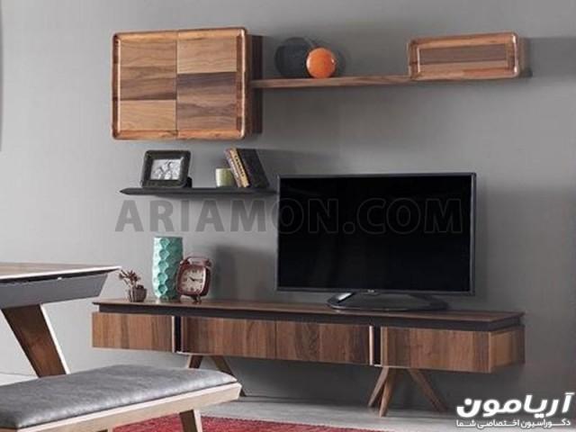 میز تلویزیون اسپرت چوبی TS156