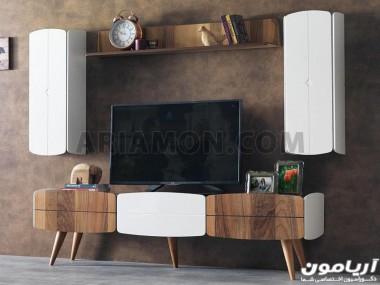 میز تلویزیون مدرن چوبی TS157