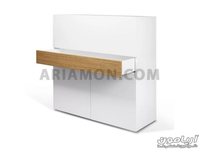 میز تحریر و کمد جادار WD115