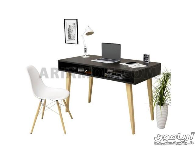 میز کامپیوتر نوجوان سیاه WD125_2