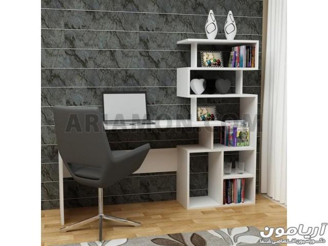 میز کامپیوتر و کتابخانه WD141